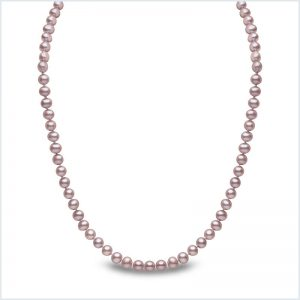 Euro Pearls Pink Freshwater Pearl Necklace